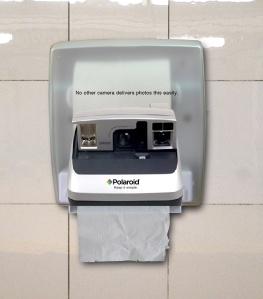 Ad para Polaroid